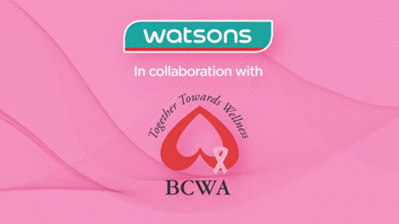 Watsons x BCWA Breast Cancer Awareness Campaign 2018