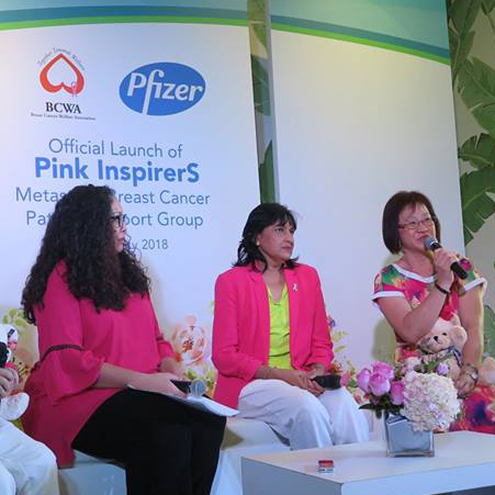 Official Launch of Pink InspirerS: Metastatic Breast Cancer Patient Support Group 2018